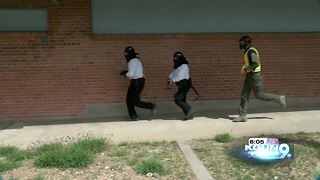 Tucson Police prepares new officers for potential active shooter situations at school - Video