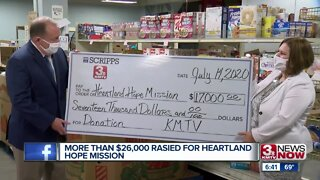 More than $26,000 raised for Heartland Hope Mission