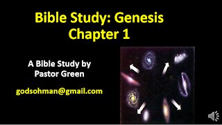Bible Study Genesis Chapter 1 Explained