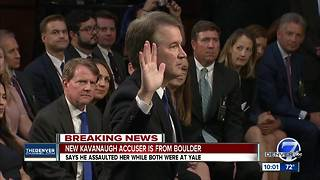 Colorado woman accuses SCOTUS nominee Brett Kavanaugh of sexual misconduct while in college - Video