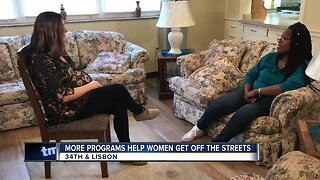 More programs help women get off the streets