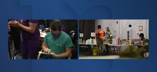VA Southern Nevada Healthcare System administers 1200 COVID vaccines