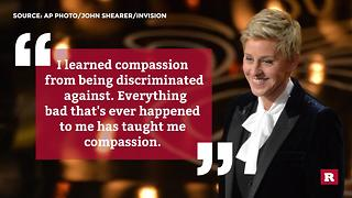 Ellen DeGeneres quotes to live by | Rare People - Video
