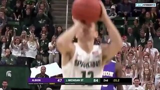 Steven Izzo scores first college point for Michigan State, bringing dad Tom to tears