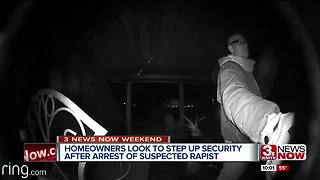 Tiburon tighten security suspect rapist arrest - Video