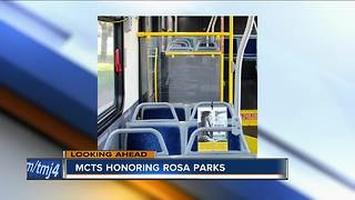 MCTS Buses to honor Rosa Parks Friday - Video