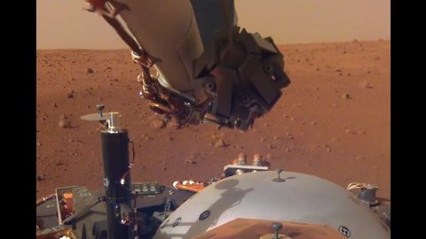 Listen to the first sounds of Mars from the InSight Lander