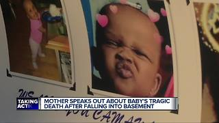 Vigil held for 11-month-old who drowned in basement of Detroit home - Video