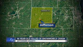 14-year-old boy killed in Jefferson County snowmobile crash identified - Video