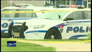 Three injured, suspect dead in office shooting - Video
