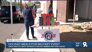 Operation Homefront gives Davis-Monthan families holiday meals