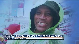 Funeral held for Milwaukee crossing guard - Video