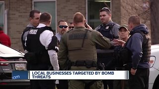 Wisconsin businesses targeted in nationwide bomb threat hoax - Video