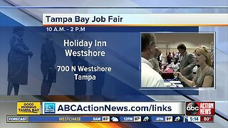 Three dozen companies participating in Tampa job fair on Tuesday