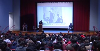 Western High School students hear anti-violence message
