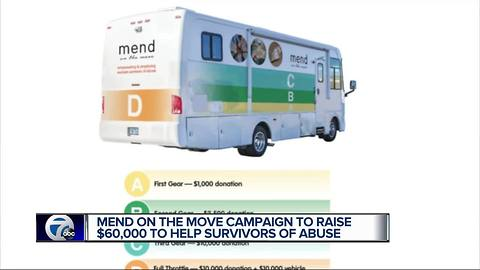 Mend on the Move trying to raise money to create mobile art studio