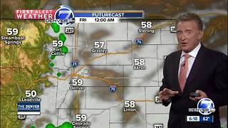 Cooler weather through the weekend - Video