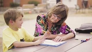 This School Provides A Constant In The Lives Of Homeless Children - Video