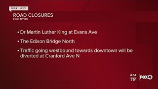 Eta causes road and bridge closures