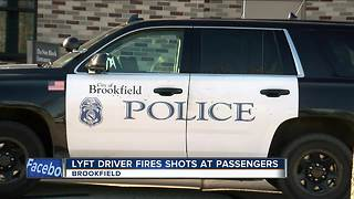 Lyft driver fires gun after possible attempted armed robbery - Video