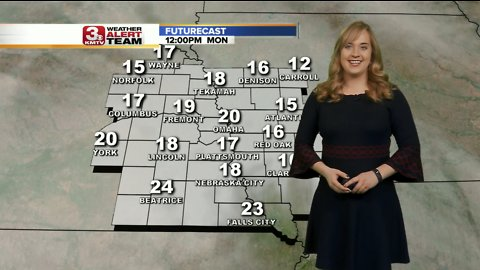 Audra's Afternoon Forecast