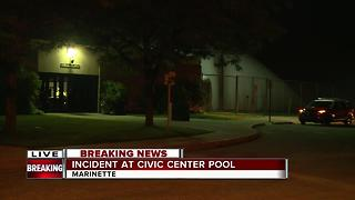 23 injured, including 15 children, after chemical incident at Marinette Civic Center pool - Video