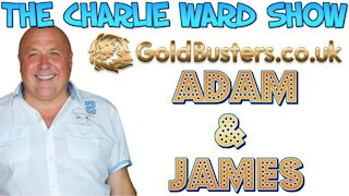 GOLDBUSTERS ADAM & JAMES WITH CHARLIE WARD