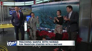 Tracking Santa with a special Christmas poem