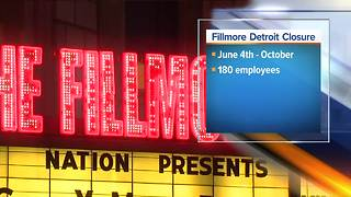 The Fillmore Detroit will shut down for months for renovations, report says - Video