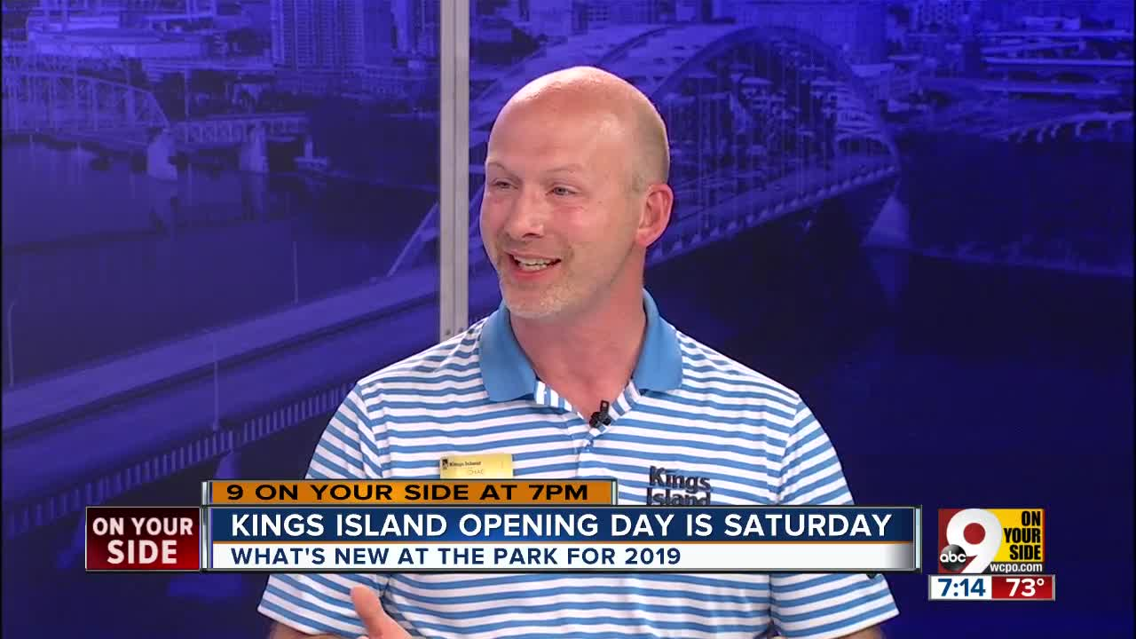 Kings Island opening day 2019 is Saturday