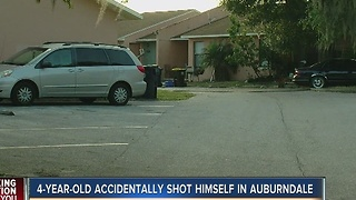 4-year-old accidentally shoots himself in Auburndale - Video