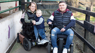 Being Disabled Doesn't Stop Us Being Great Parents | BORN DIFFERENT