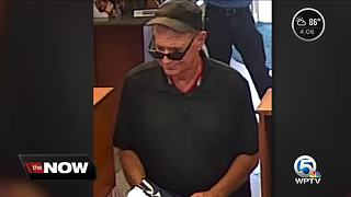 Police: Boynton Beach bank robbed, suspect sought - Video