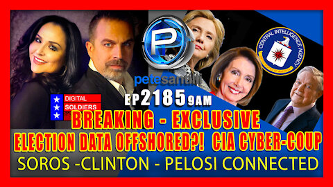 EP 2185-9AM Investigators & Trump Attorneys Tracking Data Off-Shored To CIA Connected Cc's