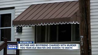 Mother and boyfriend charged with murder in death of two year-old - Video