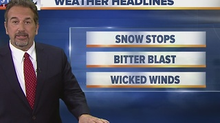 Scott Steele's Sunday evening Storm Team 4Cast - Video