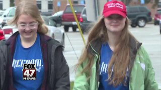 Student says teacher pulled off her 'Women For Trump' pin