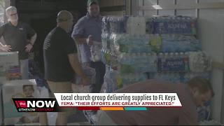 Local church group heading to Florida Keys with critical supplies after Irma - Video