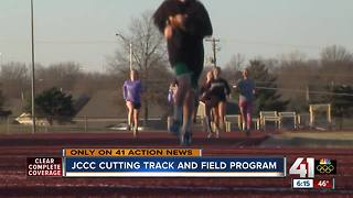 JCCC closing track, cross country programs - Video