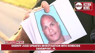 Polk deputies search for man who allegedly murdered Aunt in Davenport - Video