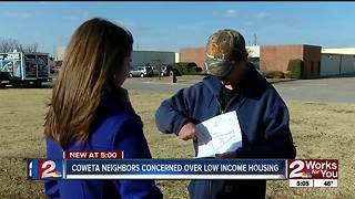 Coweta residents upset over low income housing - Video