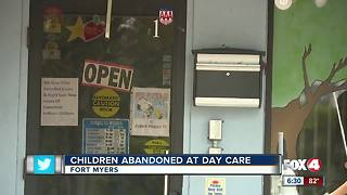 Daycare reopen after worker abandons children inside - Video