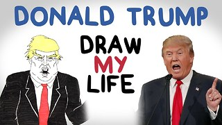 Donald Trump | Draw My Life - Video