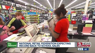 National Retail Federation expecting record back to school sales
