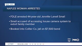 Naples woman arrested for cyber crime