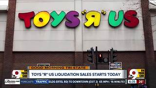 Toys R Us begins liquidation sale - Video