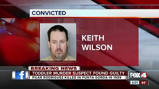 Man found guilty in the death of 4-year-old girl - Video