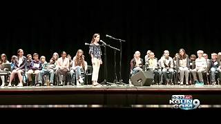 Students compete in 2018 Pima County Spelling Bee - Video