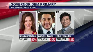 Gretchen Whitmer wins Democratic primary - Video