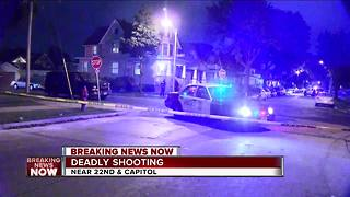 42-year-old man shot, killed on Milwaukee's north side Friday night - Video